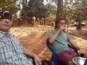 See What These White Men Were Spotted Doing In A Community In Enugu. [Photos]